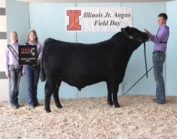 Grand Champion Bred & Owned Bull - DDA Touch of Class 1401 - Exhibited by Chase Anderson